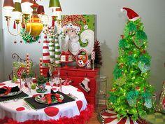 dining room www.lisafroststudio.com