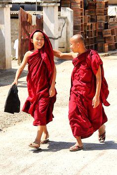 Happy monk life