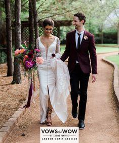 Spring Brunch Wedding from Jen Rios Weddings Clark Gardens, Wedding Blog, Wedding Planner, 2016 Wedding Trends, Brunch Wedding, Bridal Salon, Absolutely Stunning, Groom, Reception