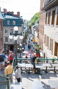 Quebec City, Lower City BoulderLocavore.com