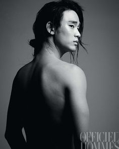 L'Officiel Hommes Sep 2011 #KimSooHyun #김수현