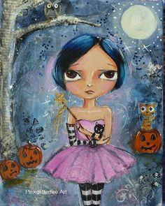 halloween painting :)