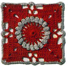 Pennsylvania Modern Bedspread Pattern motif - free vintage crochet pattern