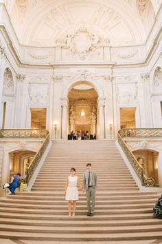 San Francisco City Hall Wedding Photographer - Kirsten Julia Wedding Photography www.kirstenjulia.com