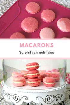 #Macarons einfaches Grundrezept. Mit dem #Rezept für #Anfänger gelingen sie garantiert.