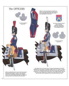 Ufficiali della gendarmeria della guardia imperiale