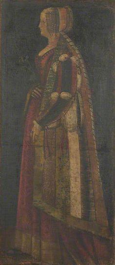 """""Bona of Savoy (?) 1475 - 1500 Italian (Milanese) School The National Gallery, London"""""