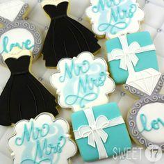 Breakfast at Tiffany's Sugar Cookies Sweet17Cookies.Etsy.com