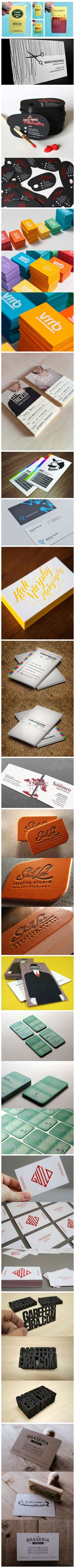 Business cards don't have to be dull...