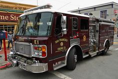 ◆San Francisco Fire Department Engine 1 ALF Pumper◆