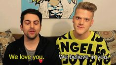 Gif of Scomiche telling me they love and believe in me. <3 XD