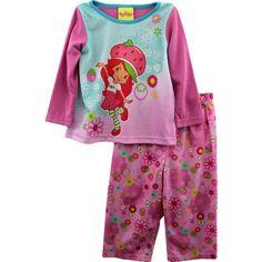 """Strawberry Shortcake """"Flowers"""" Pink Pajamas 2T-5T (4T) Strawberry Shortcake http://www.amazon.com/dp/B00AR0SKBO/ref=cm_sw_r_pi_dp_A.Y.tb1KY2ZNX"""