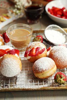 Strawberry Shortcake Doughnuts | Joy the Baker