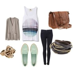 I think I'd use leggings with this outfit. Comfy!