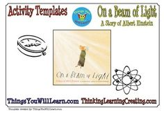 On a Beam of Light Activity Pack Picture Story Books, Free Teaching Resources, Atoms, Social Emotional Learning, Post Card, Library Ideas, Crossword, Summer School, Read Aloud