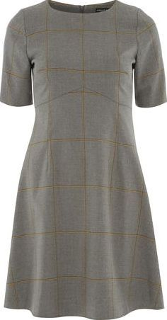 Dorothy Perkins Womens Grey Check Skater Dress- Grey DP66832562 Grey and camel window pane check short sleeve skater dress with a body length of 96cm. 66% Polyester,33% Viscose,1% Elastane. Machine washable. http://www.comparestoreprices.co.uk/january-2017-9/dorothy-perkins-womens-grey-check-skater-dress-grey-dp66832562.asp