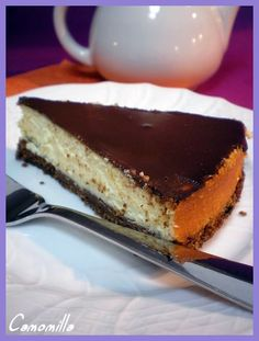 cheesecake al cioccolato e ricotta       #recipe #juliesoissons