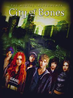 mortal instruments - city of bones.. want to read after Night Huntress series...My daughter says it is great!!!
