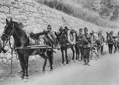 Austrian soldiers AustroItalian war Battle of the Isonzo World War I 1915 After declaring war on the AustroHungarian Empire on 23 May 1915 the...