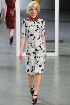 Derek Lam Fall 2012 Ready-to-Wear Fashion Show - Daphne Groeneveld