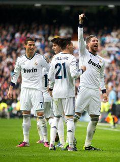 Ronaldo, Morata, Callejón, Ramos || 20130302-La Liga-RMA vs. Barcelona