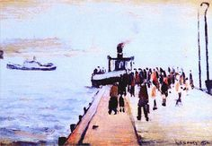 Fleetwood from Knotend by LS Lowry