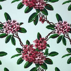 Check out this item at One Kings Lane! Carleton Varney Rhododendron Wallpaper