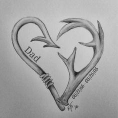 antler tattoos | Tumblr