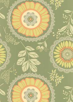 green & yellow wallpaper