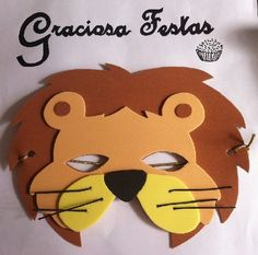 Máscara Safari Fourth Birthday, Circus Birthday, Circus Party, Ballet Costumes, Baby Costumes, Diy And Crafts, Crafts For Kids, Arts And Crafts, Animal Plates