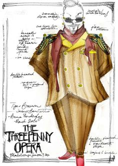 threepenny opera costumes - Google Search