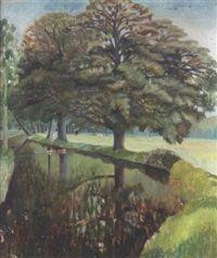 The river pang by Dora Carrington