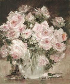Rose Bouquet original oil