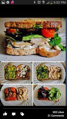 #HealthySandwich