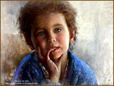 Artist, Javad Soleimanpour Javad Soleimanpour Iran Javad Soleimanpour,won first place in the Landscape and Interior category in that year's Pastel He had no idea that one of his student… Potrait Painting, Painting & Drawing, Pastel Drawing, Pastel Art, Pinturas Em Tom Pastel, Pastel Portraits, Impressionist Art, Painting For Kids, Children Painting