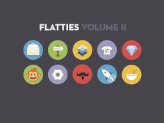 Flatties Vol 2 — Designspiration