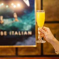 SIP   Cheers! Come join us for a mimosa or two this weekend at #Felice15GoldStreet. Cheers, Alcoholic Drinks, Join, Glass, Drinkware, Corning Glass, Liquor Drinks, Alcoholic Beverages, Liquor