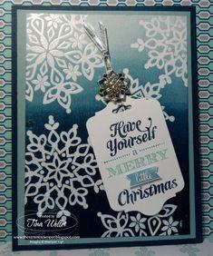 Brayered Festive Flurry by serenestamper - Cards and Paper Crafts at Splitcoaststampers