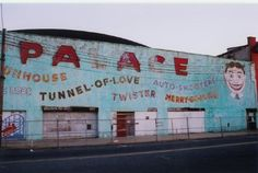 The Palace, Asbury Park. I spent a lot of time were while growing up in NJ. Jersey Girl, New Jersey, Best Beaches In Nj, Nj Shore, Global Positioning System, Bergen County, Asbury Park, Vintage Carnival, Bruce Springsteen