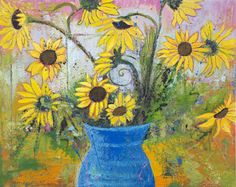 Sunflowers - Hommage to Van Gogh prints start at $25