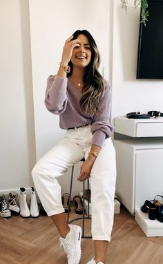 Teen Fashion Outfits, 80s Fashion, Look Fashion, Korean Fashion, Winter Fashion, Cute Casual Outfits, Look Chic, Mode Inspiration, Everyday Outfits