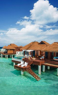 No, this is not Bora Bora. The newest over-the-water bungalows in the Caribbean are at Sandals Resorts and we're waiting for you with warm sun and smiling faces. No need to break the bank for a romantic experience. Travel Inspiration for Katharine Dever Beautiful Places To Travel, Cool Places To Visit, Places To Go, Vacation Destinations, Dream Vacations, Good Vacation Places, Italy Vacation, Romantic Holiday Destinations, Dream Vacation Spots