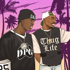 #artwork for @dazdillinger #2pac #alleyezonme #tupac #hiphop #rap #rapper #gangsta #thuglife #alleyezonmemovie #california #sky #losangeles #dpg #doggpound #bokkaboom #illustration #art #digitalart #graphics #gfx