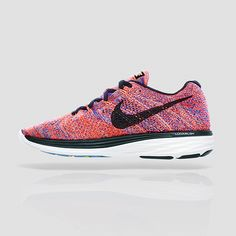 You don't know it yet, but you're about to slip into a long distance relationship. The Nike Flyknit Lunar 3 is a top-rated women's running shoe for a reason — it's lightweight and made to go as many miles as you'll take it.