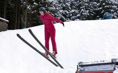 Skisprung Schnupperkurs in Obertauern mit der CSA Skischule Grillitsch & Partner Action Sport, Shovel, Ski Jumping, Ice Climbing, Long Distance, Ski Trips, Skiing, Athlete, Dustpan