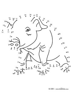 PIG dot to dot game printable connect the dots game