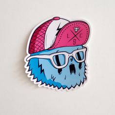 Stickers! by Coté Escrivá, via Behance