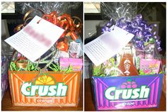 What's On My Porch: Teen-Ster Baskets: Easter Basket Idea for Teenagers