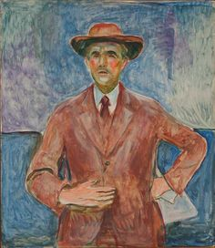 edvard munch(1863-1944), eberhard grisebach, 1932. oil on canvas, 117 x 100 cm. munch-musket, oslo, norway http://www.the-athenaeum.org/art/detail.php?ID=52685