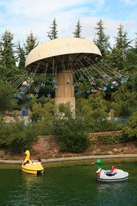 Gilroy Gardens, formerly known as Bonfante Gardens, is California's only theme park with a horticultural theme.